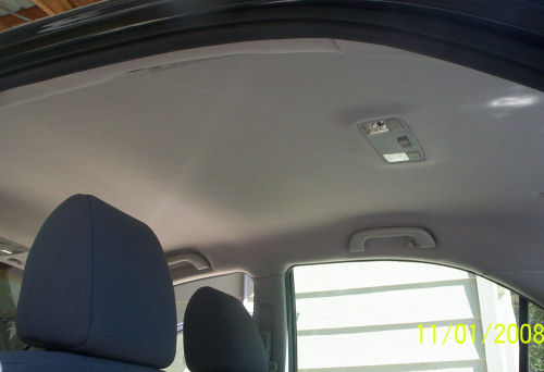 2003 mazda 6 headliner replacement and repair Car interior ceiling fabric repair