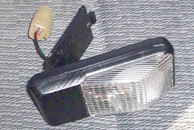 nissan frontier interior light