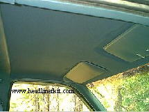 How To Remove Recover And Replace The Headliner In A 1992