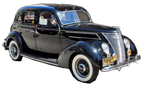 1949 through 1951 chopped ford cars customs autos post for 1937 ford 4 door sedan for sale