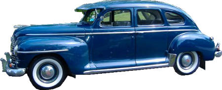 1946 To 1948 Plymouth Special Deluxe 4 Door Sedan Headliner