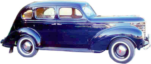 1937 To 1939 Plymouth 4 Door Sedan Replacement Headliner From Wls Headliners