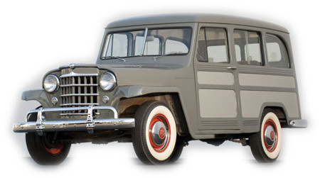 1951 To 1959 Jeep Willys Station Wagon Replacement
