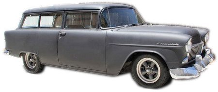 1955 To 1957 Chevy Delivery Replacement Headliner Long
