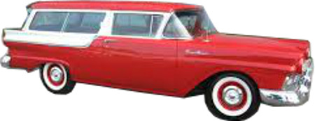 1956 To 1958 Ford Wagon 2 And 4 Door Replacement Headliner