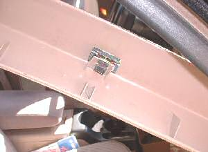 Ford Explorer front post trim