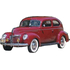 1937 to 1940 Ford Deluxe 2dr replacement headliner