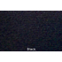 Black 70 inch wide headliner fabric