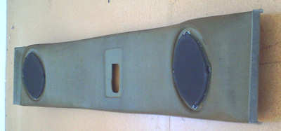 rear headliner speaker mount in 1994 Jeep Cherokee sport