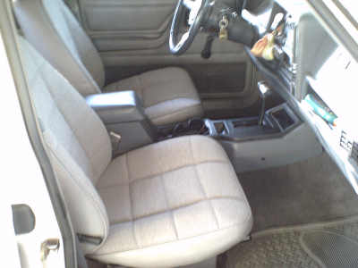 complete new interior in the 1994 Jeep Cherokee Sport