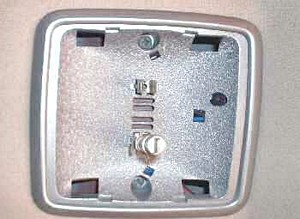 Dodge Dakota dome light housing
