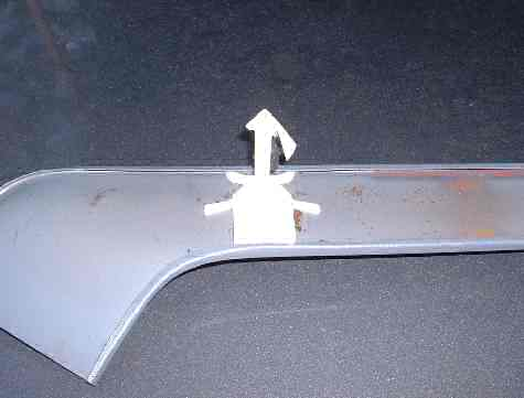 91 Cadillac Fleetwood rear trim
