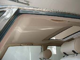 headliner replaced jaguar xj8