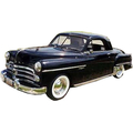 1949 to 1951 Dodge Business coupe headliner