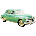 1959 to 1951 Plymouth P20 4 door Sedan headliner