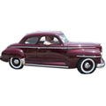 1946 thru 1948 Plymouth Special Deluxe Business Coupe headliner