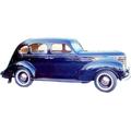 1937 to 1939 Plymouth 4 door Sedan replacement headliner