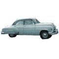 1949 to 1952 Chevrolet  Deluxe 4 dr replacement headliner