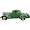 1935 and 1936 Chevrolet Coupe 5 window replacement headliner