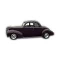 1938 to 1940 Mercury business coupe headliner