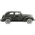 1936 to 1939 Plymouth 2 door Sedan replacement headliner