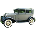 1928-1932 Ford 2 door sedan headliner