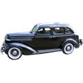 1935 1936 Dodge 4 door replacement headliner