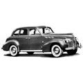 1937 and 1940 Pontiac 4 door Sedan replacement headliner