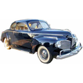 1941 and 1942 Dodge Club coupe headliner