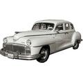 1946 to 1948 Dodge 4 door headliner