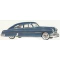 1949 to 1951 Pontiac 2 door fastback headliner
