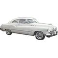1949-1950-1951 Buick Special Sedanette headliner