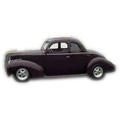 1938 to 1940 Ford Business Coupe replacement headliner