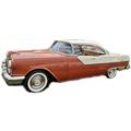 1954 to 1956 Pontiac Superchief 2 dr headliner