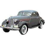 1938 to 1940 Buick Special business coupe replacement headliner