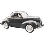1938 to 1940 Willys Coupe headliner