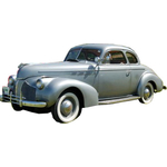1938 to 1940 Pontiac Coupe replacement headlin