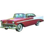 1955 through 1957 Chevy Belair 2 door replacement headliner