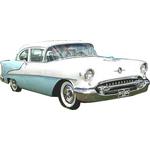 1955 to 1957 Oldsmobile Holiday 88 2 door headliner