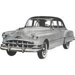 1949 to 1951 Pontiac 4 door replacement headline