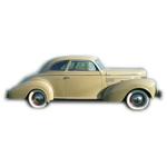 1937-39 Chrysler Royal Windsor club coupe